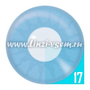 Карнавальные линзы Lensmam Solar Blue Фото 3
